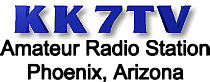 KK7TV Amateur Radio Station